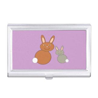 Mutter-Tageshäschen-Visitenkarte-Halter Visitenkarten Etui