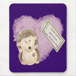 Mutter-TagesIgel - Mousepad