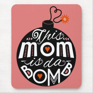 Mutter-Tagesmamma DA bombardieren die moderne Mousepad