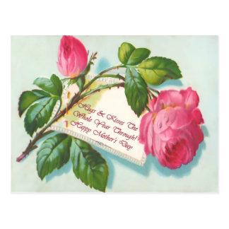Mutter-Tagespostkarte Postkarte