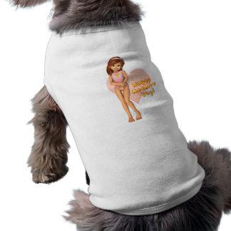 Mutter-TagSadie Haustier-Kleidung Hund Tshirt