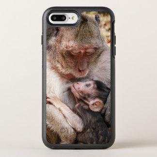 Mutter-u. Baby-Affe OtterBox Symmetry iPhone 8 Plus/7 Plus Hülle