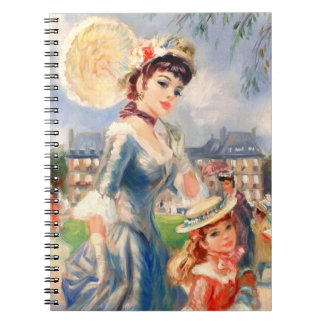 Mutter u. Tochter. Geschenk-Notizbücher der Mutter Notizblock