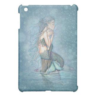 Mutter-und Baby-Meerjungfrau-Fantasie-Kunst iPad iPad Mini Hülle