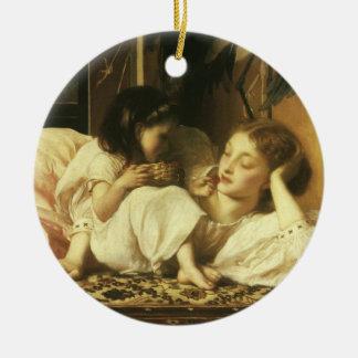 Mutter und Kind (alias Kirschen) durch Lord Keramik Ornament