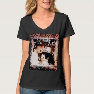 Mutter und Kind durch Collage Gustav Klimt T-Shirt