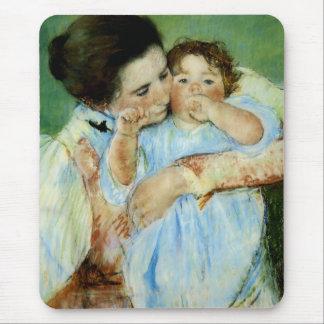 Mutter und Kind durch Mary Cassat Mousepad