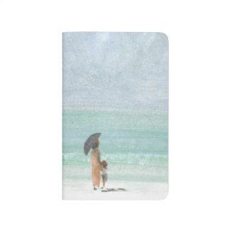 Mutter und Kind Taschennotizbuch