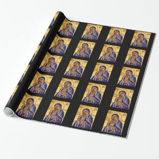 Mutter-und Kindergeschenk-Packpapier Jesus u. Mary Geschenkpapier