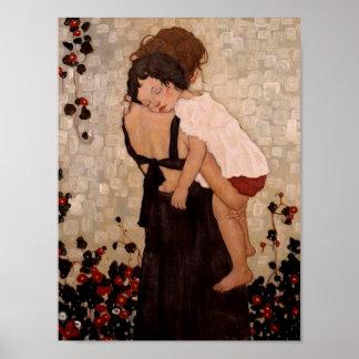 Mutter-und Kinderplakat Poster