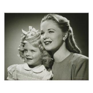 Mutter und Tochter Poster