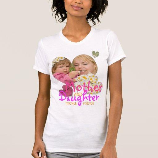 Mutter- und Tochterzusammengehörigkeits-T - Shirt