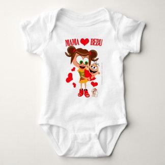 Mutter Voli Bebu - Bodici - Beli Baby Strampler