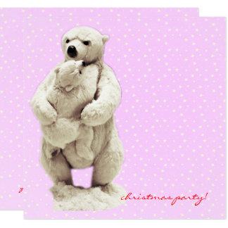 Mutterbär und -Teddybär Karte