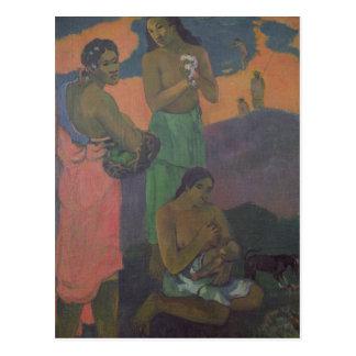 Mutterschaft oder drei Frauen auf der Küste, 1899 Postkarte