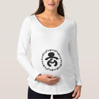 Mutterschafts-Shirt BabyZen Yin/Yang Schwangerschafts T-Shirt