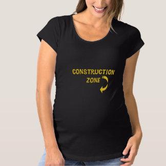 Mutterschaftsbau-Zone Schwangerschafts T-Shirt