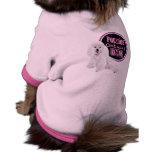 Mutterschaftspudel staut Hündchen-T-Stück Hundetshirts