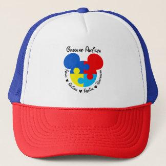 Mütze Autistischer Stolz Mickey Puzzle