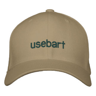 Mütze Stil usebart Bestickte Baseballkappe