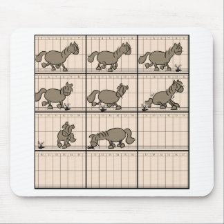 Muybridge Pony Mousepad