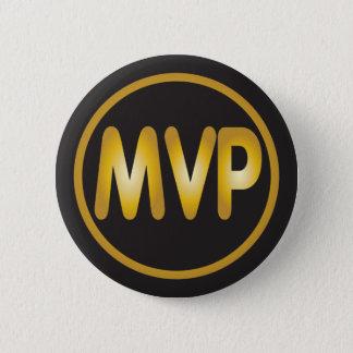 MVP das meiste wertvolle Spieler-Abzeichen Runder Button 5,7 Cm