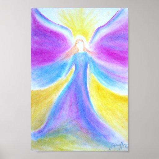 My first Sight... An Angel Posterdruck