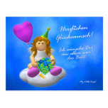 My Little Angel: Glückwunsch Postkarte