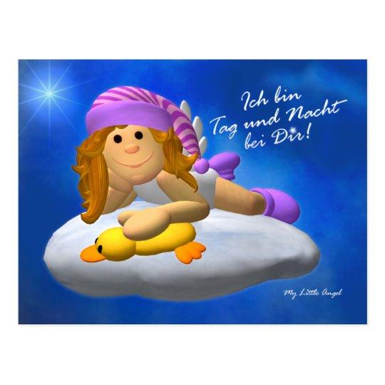 My Little Angel: Tag und Nacht Postkarte
