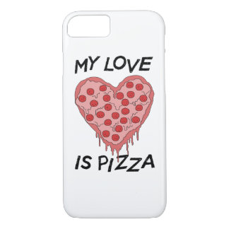 My Love I Pizza iPhone 8/7 Hülle