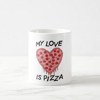 My Love I Pizza Kaffeetasse