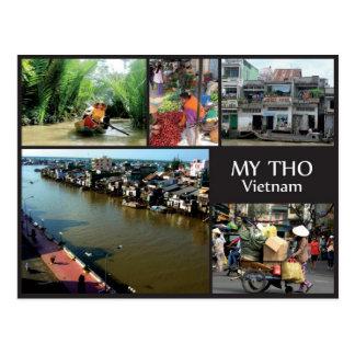 My Tho - Vietnam Postkarte