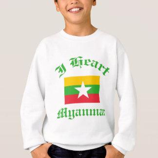 Myanmar-Entwurf Sweatshirt