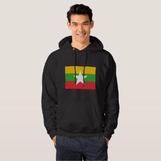 Myanmar-Flagge Hoodie