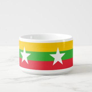 Myanmar-Flagge Kleine Suppentasse