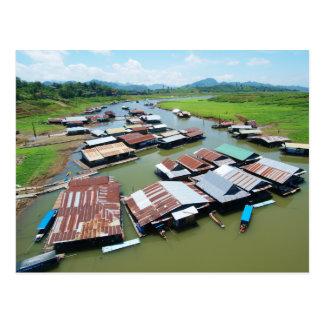 Myanmar-Floss Postkarte