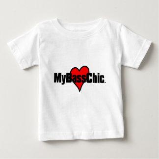 MyBassChic (TM) hochrotes Herz Baby T-shirt