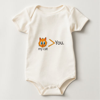 Mycatmorethanyou Baby Strampler