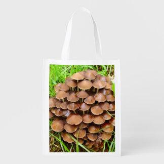 Mycena inclinata Pilz-wiederverwendbare Tasche Wiederverwendbare Einkaufstasche