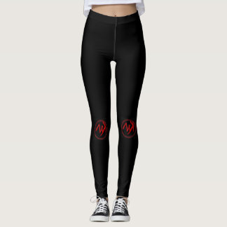 Myk Medium-Logo-Gamaschen Leggings