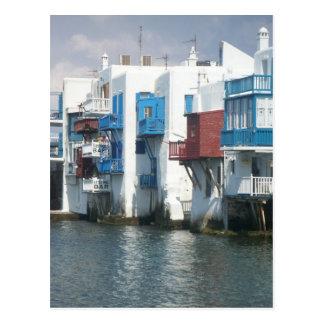 Mykonos, Griechenland Postkarte