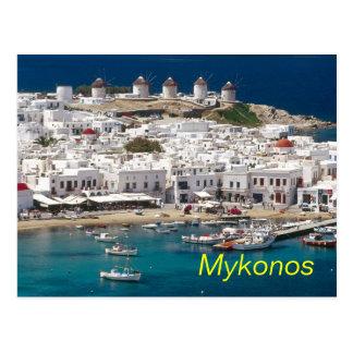Mykonos Postkarte
