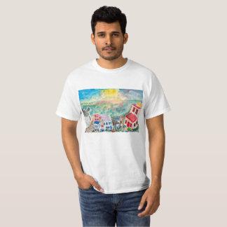 Mykonos Sonnenuntergang-T - Shirt