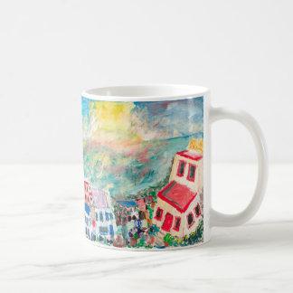 Mykonos Sonnenuntergangschale Kaffeetasse