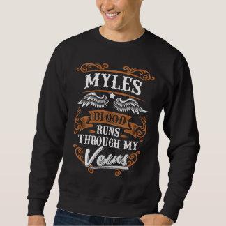 MYLES Blut-Läufe durch mein Veius Sweatshirt
