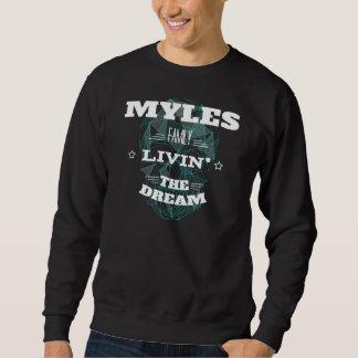 MYLES Familie Livin der Traum. T - Shirt