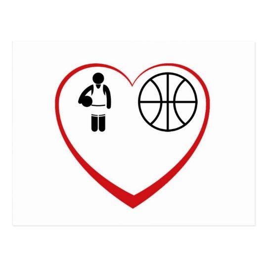 MyLove: Basketball Postkarte