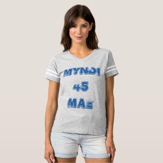 Myndi Mae 45 athletischer T - Shirt