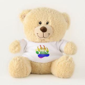 MyPride365 - Regenbogen BÄRENTATZE Teddybär