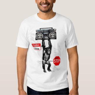 MyPrymate Hip-Hop-Schimpanse T-Shirts